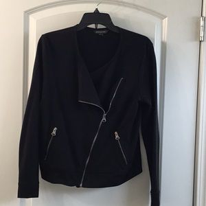 Banana Republic asymmetric zippered jacket